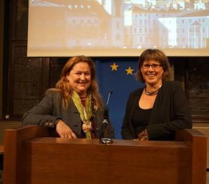die aktuellen Vorsitzenden Silke Fritz und Sabine Altehage