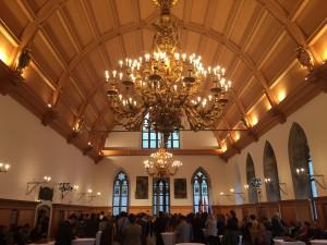 Empfang im Goldenen Saal im Rathaus zu Nürnberg