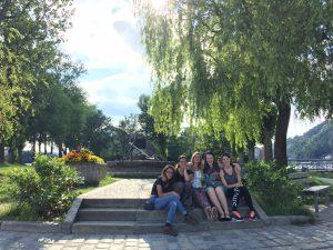 Foto: Silke Fritz: Besucher aus dem benachbarten Österreich und den USA